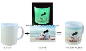 11oz Luz sublimação de tinta de alta qualidade caneca caneca exclusivo dom, festa de casamento dom Cup, sublimação caneca luminoso