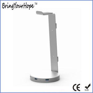 Conception unique 3.0 Hub USB multifonction avec casque Stand (XH-Moyeu-012)