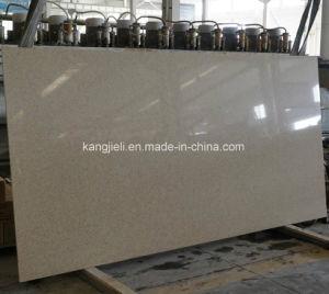 白い単一カラー水晶固体水晶平板