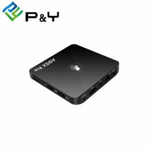 A95X PRO TV Box Quad Core S905W 2GB 16GB Reproductor de medios de control remoto de voz