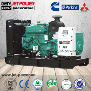 Leiser schalldichter Dieselgenerator der Energien-300kVA 240kw mit Drehstromgenerator Stamford Preis
