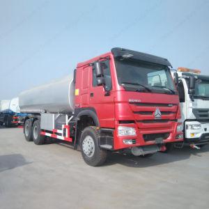 6X4トラック20000リットルの円滑油の石油燃料タンクガソリン輸送の