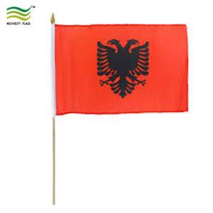 アルバニアのフラグを振るスポーツの旗手の把握