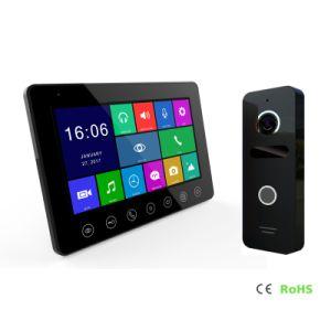 Memoria HD Video Portero intercomunicador 7 pulgadas de la seguridad del hogar interfonía