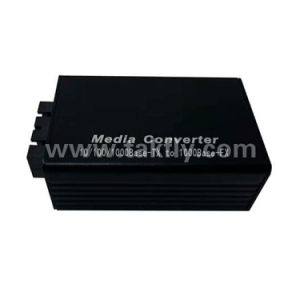 Mini 1000m SC Duplex de fibra óptica simple Mini Media Converter.