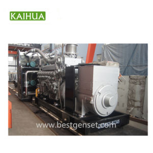1250kVA/1000KW Groupes électrogènes Diesel de type ouvert propulsé par Mitsubishi moteur Diesel