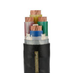 Conduttore di rame/di alluminio XLPE ha isolato il cavo corazzato inguainato PVC di energia elettrica del filo di acciaio