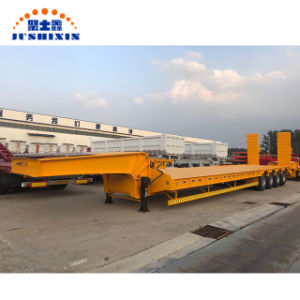 120 ton 4-Eixo para Serviço Pesado de melhor qualidade baixa carga de leito/utility/semi reboque