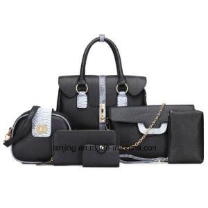 Signora di sacchetto del Tote delle borse delle donne della borsa dell'unità di elaborazione delle signore di disegno di modo borsa