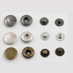 Latón Nickel-Free muelle metálico Pulse el botón Ajustar para la ropa