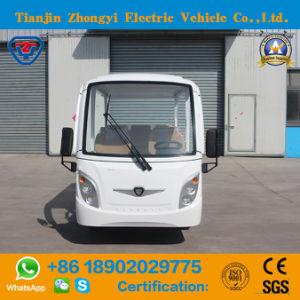 Toda a venda 8 Seaters Automóvel de passageiros de passeios de carro eléctrico