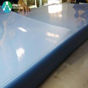 915*1830mm Apagar folha de plástico de PVC extrudido rígida com duas faces película de camuflagem para impressão