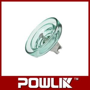 Линия высокого напряжения типа противотуманных фар стекло изолятор (LXHP-70)