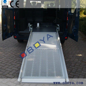 Accesorios de automóviles, vehículo de la rampa para silla de ruedas
