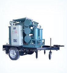 El tiempo la prueba de la máquina de purificación de aceite de transformador móvil