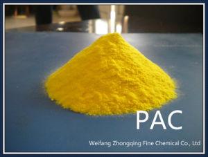 Gele Flocculant van het Chloride van het Poly-aluminium van het Poeder