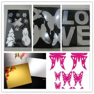 AcrylBlad van de Spiegel van de Muur van de Bladen van de Spiegel van de anti-kras het Gouden Acryl