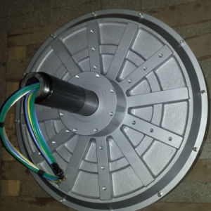 2KW 150tr/min trois Coreless de phase verticale de l'alternateur de l'éolienne