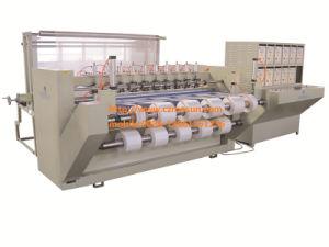 Machine de découpe à ultrasons pour le tissu de polyester avec Edge certifcated Traitement (CE)