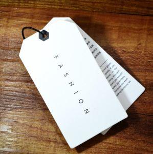 Personalizados baratos nueva China en blanco marfil colgar de la Junta de diseño de etiquetas