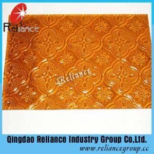 4mm Amber/de Grijze/Voorgesteld/Gevormd Flora van het Brons/Nashiji/Karatachi Glas
