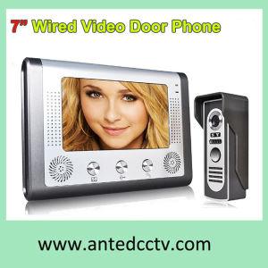 7 인치 LCD 모니터를 가진 영상 문 전화 내부통신기 현관의 벨