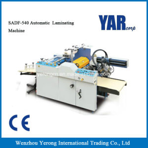 заводская цена Садф-540 полностью автоматическая машина для ламинирования с маркировкой CE