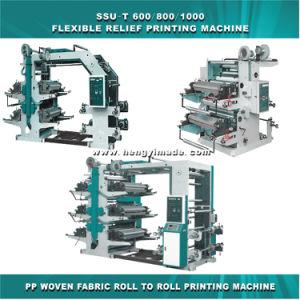 Alivio de la máquina de impresión flexible (tela tejida de rollo a rollo impresión).