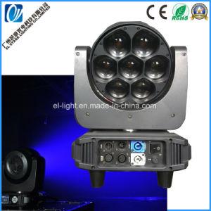 ズームレンズの/Beamライトまたは洗浄ライト(EL-LZ0740)が付いている7X40W RGBW LEDの移動ヘッドライト