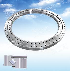 La serie de luz estándar Europeo /Cross-Roller/anillo de rotación de la rotación de engranaje interior