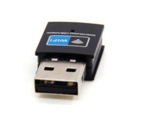고품질 802.11b/G/N 300Mbps 소형 USB WiFi 접합기