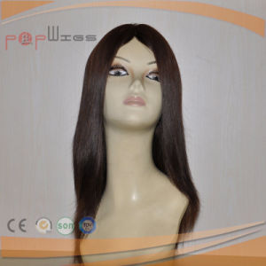 ブラジルの毛自然なカラーレースの前部かつら