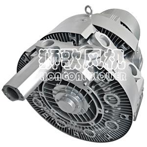 Inyección de aceite pesado Larga vida útil del ventilador de vacío de canal lateral