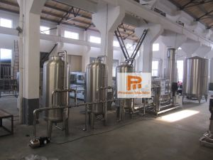 6000l tratamiento de purificación de agua pura máquina