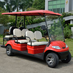 6 Seatersの電池の電気ゴルフ車