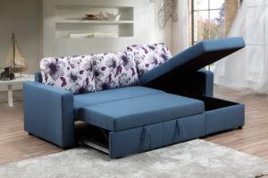 Venta caliente Muebles de salón sofá-cama plegable con almacenamiento