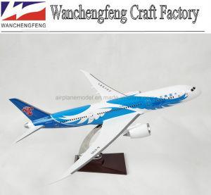 Avião modelo Boeing B787-8 Escala modelo de avião