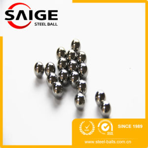 Usine chinoise Feige 3,175 mm G100 AISI316 Bille en acier inoxydable
