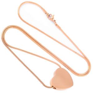 Edelstahl-Inner-Pendent Urne-verascht freie Stich-Verbrennung Halskette