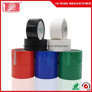 La Junta de cartón cintas adhesivo acrílico a base de agua clara BOPP cintas de embalaje 120 rollos en una caja de cartón