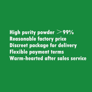 Fabrik geben 99% Yohimbine Hydrochlorid/Yohimbine HCl 65-19-0 an