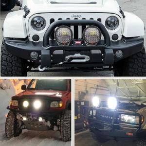 Les cris des pièces automobiles 9pouce Black spot LED Lampe LED de conduite hors route avec des feux de travail 96W 185W