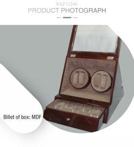 Madera lacado de lujo Wholesales watch winder para mostrar