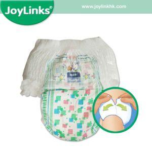 使い捨て可能な綿の赤ん坊のおむつのズボンのための魅力的なデザイン