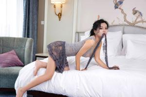 Les femmes Vêtements exotique transparente en dentelle élastique gris nuit robe sexy robe de nuit lingerie sexy nuisette chambre à coucher de la Dentelle de vêtements de nuit