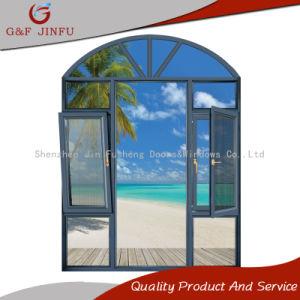 Порошковое покрытие алюминиевых Heat-Insulation тент окно с Fly экран