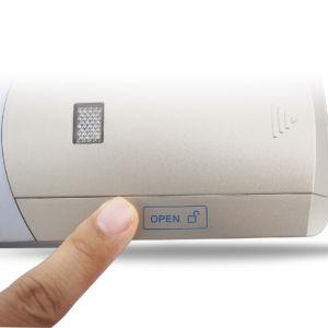 Sem cablagem para fácil instalação mais fixe Anti-Theft 433MHz invisível Fechadura electrónica com 2 válvulas remotas