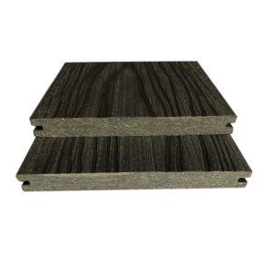 Reforço exterior de fibra longa WPC Flooring Deck/, Composto de madeira/Piso, Co-Extrusion WPC