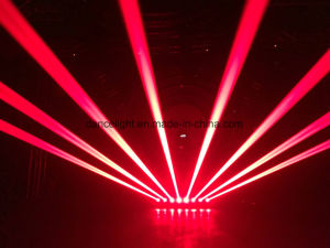 DJ освещение восемь глав государств 8 Глаза красный луч этапе лампа