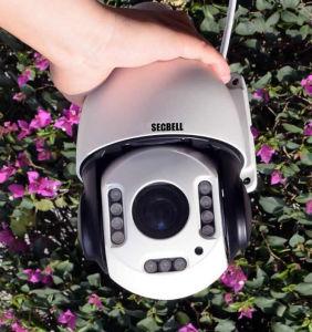 2.0MP PTZ WiFi 22X IP caméra dôme à vitesse moyenne de l'audio